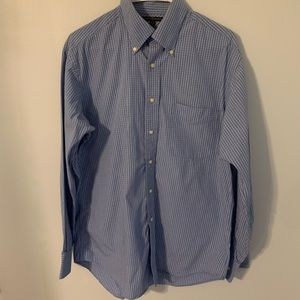 Tommy Hilfiger men's size medium dress shirt EUC